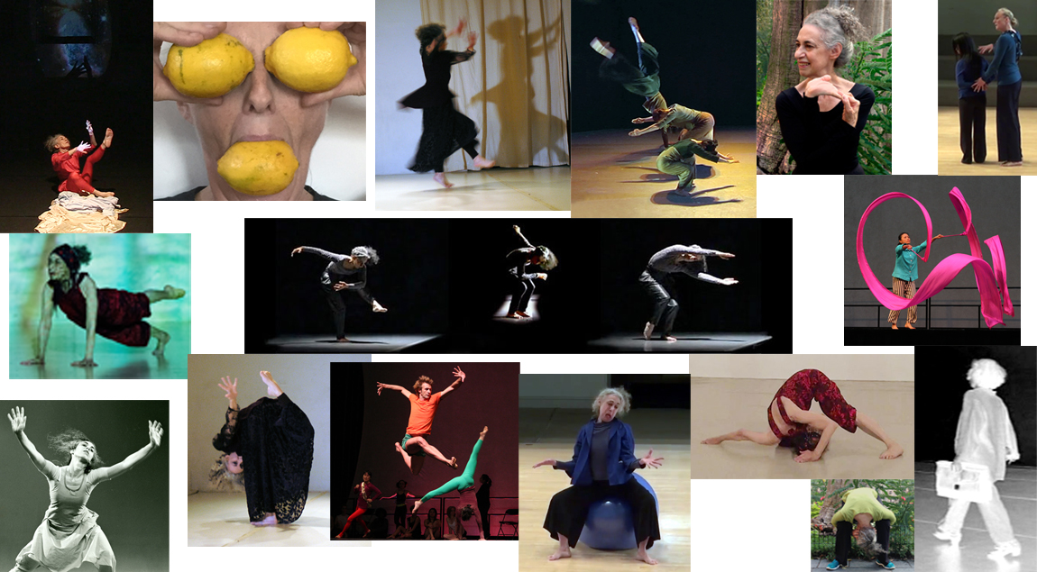 Collage of Laura Shapiro Choreogreaphy